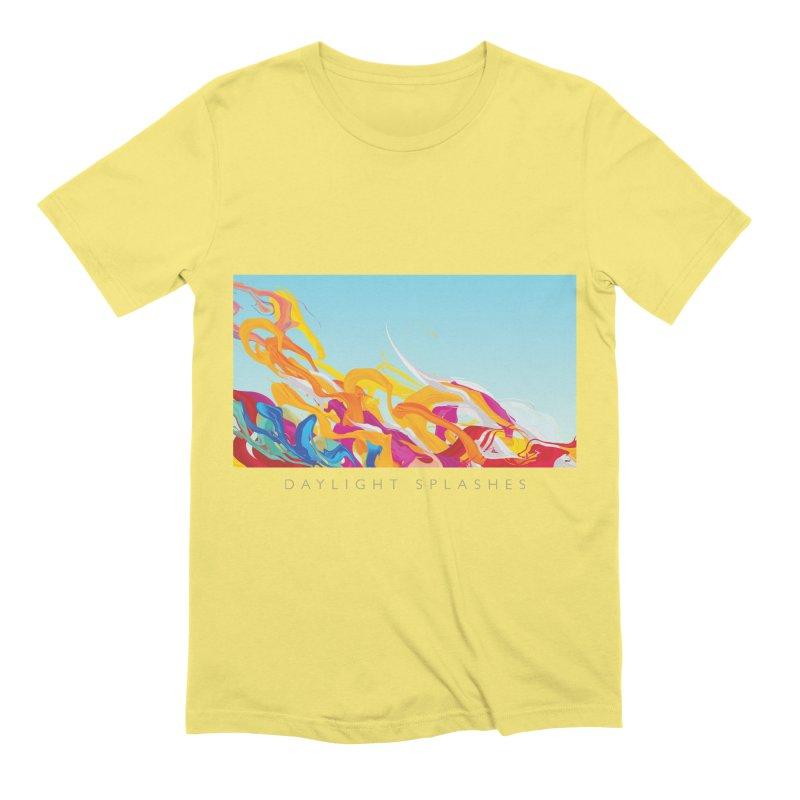 DAYLIGHT SPLASHES Men's Extra Soft T-Shirt by mu's Artist Shop