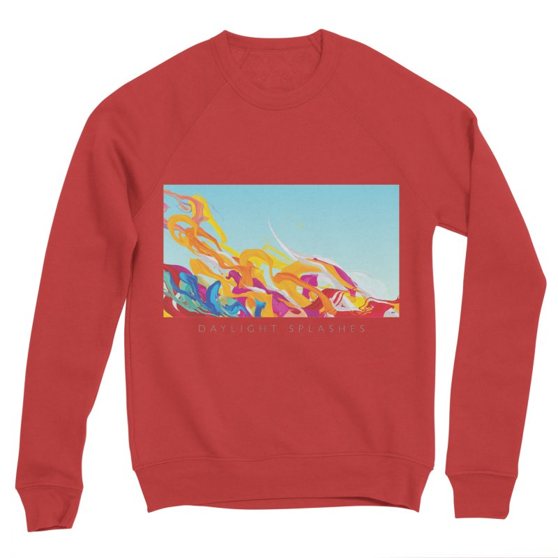 DAYLIGHT SPLASHES Men's Sponge Fleece Sweatshirt by mu's Artist Shop