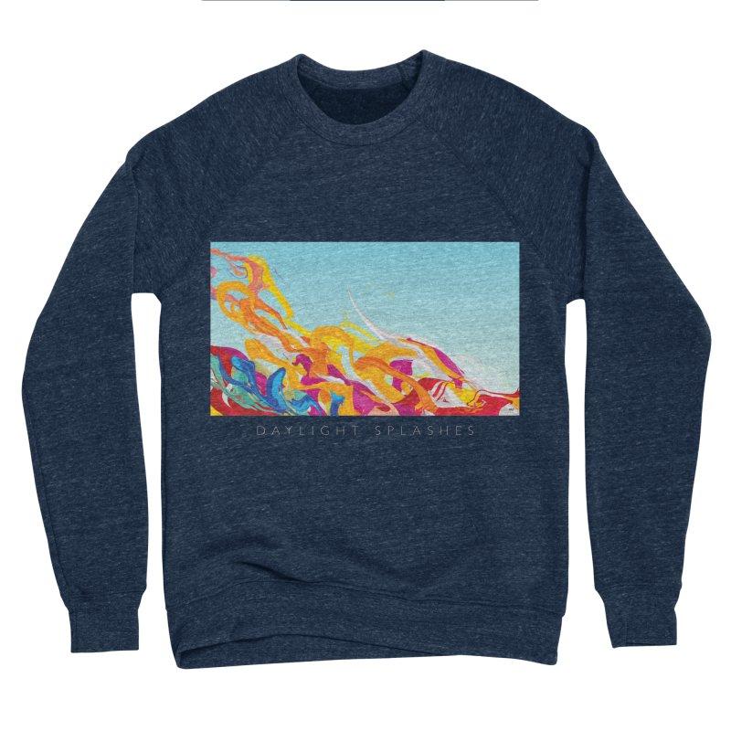 DAYLIGHT SPLASHES Men's Sponge Fleece Sweatshirt by mu's Artist Shop