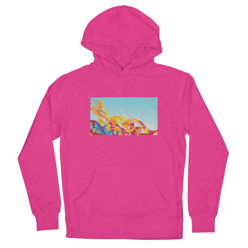 DAYLIGHT SPLASHES Women's French Terry Pullover Hoody by mu's Artist Shop