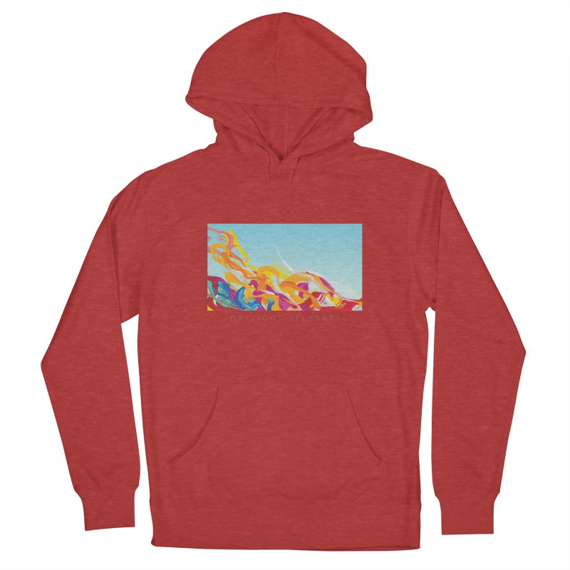 DAYLIGHT SPLASHES Men's French Terry Pullover Hoody by mu's Artist Shop