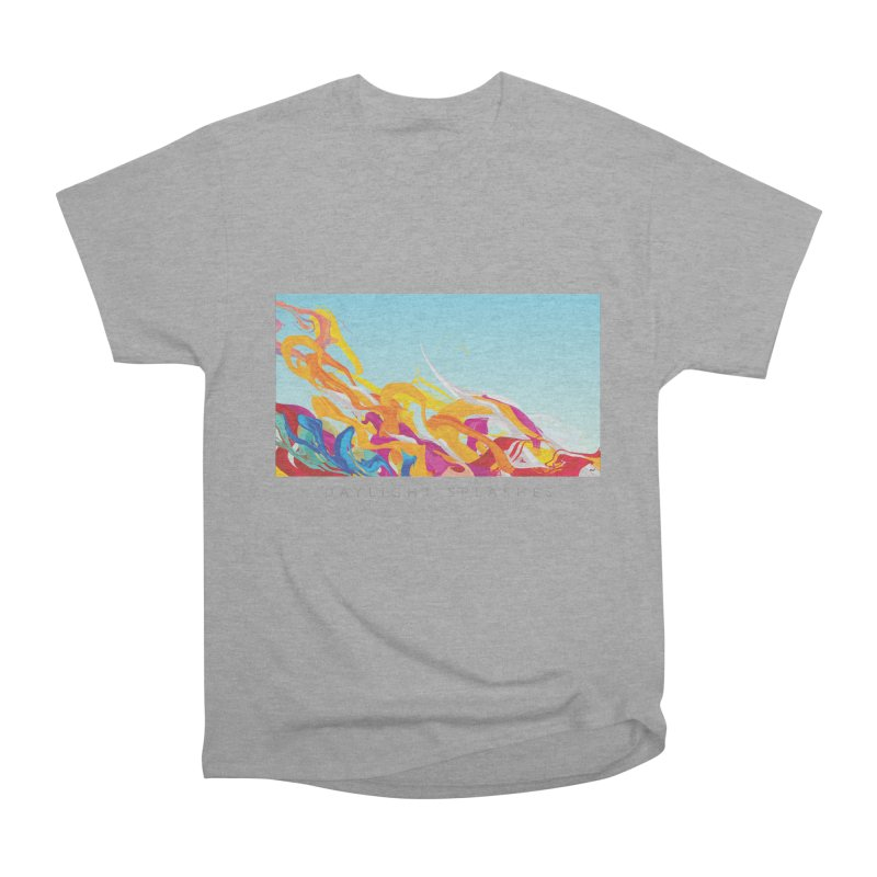 DAYLIGHT SPLASHES Women's Heavyweight Unisex T-Shirt by mu's Artist Shop