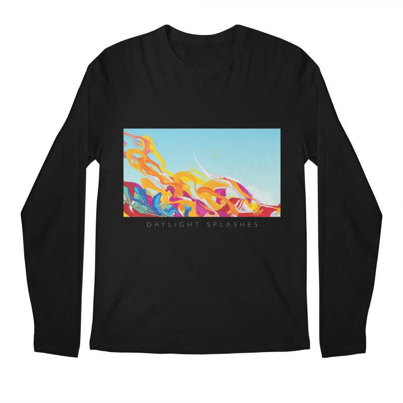 DAYLIGHT SPLASHES Men's Regular Longsleeve T-Shirt by mu's Artist Shop
