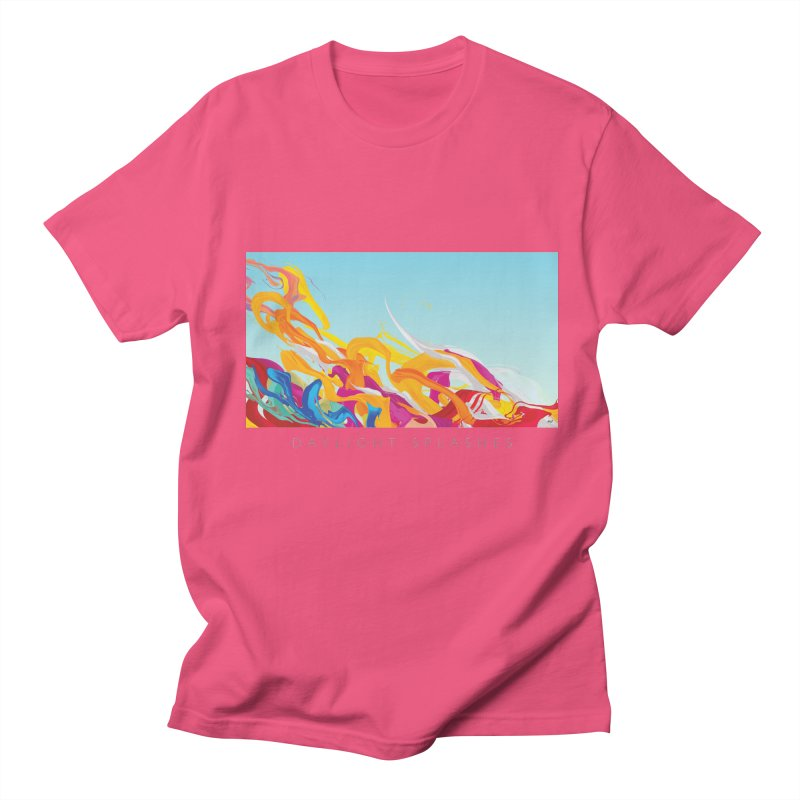 DAYLIGHT SPLASHES Men's Regular T-Shirt by mu's Artist Shop