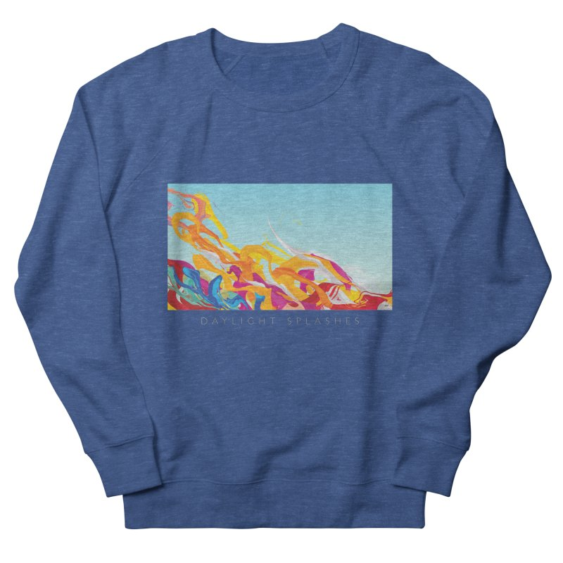 DAYLIGHT SPLASHES Women's French Terry Sweatshirt by mu's Artist Shop