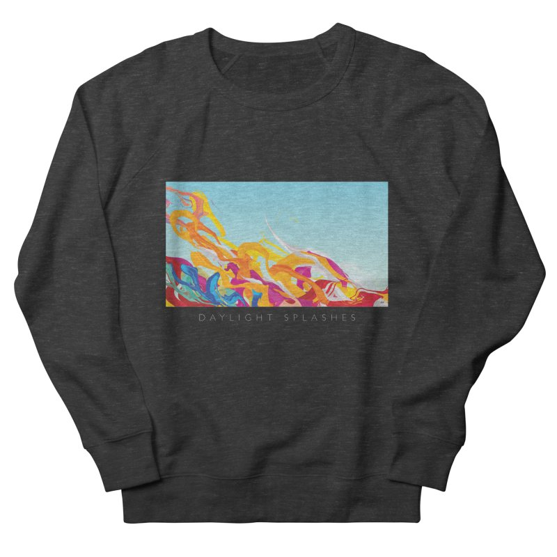 DAYLIGHT SPLASHES Men's French Terry Sweatshirt by mu's Artist Shop