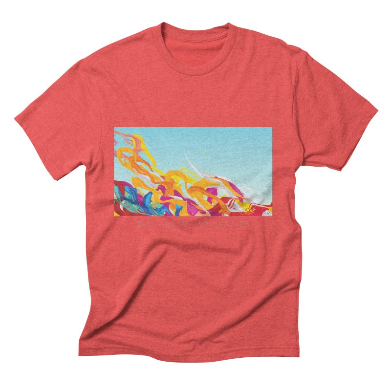 DAYLIGHT SPLASHES Men's Triblend T-Shirt by mu's Artist Shop