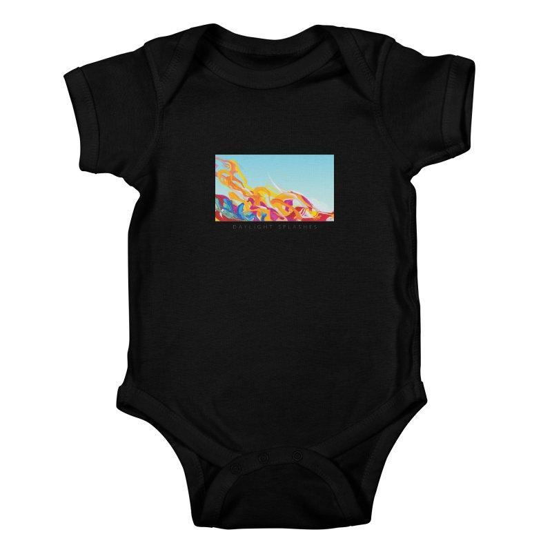 DAYLIGHT SPLASHES Kids Baby Bodysuit by mu's Artist Shop