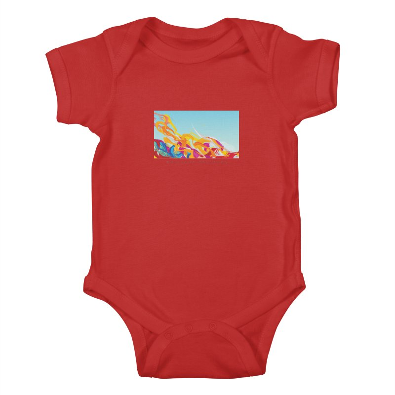 DAYLIGHT SPLASHES Kids Baby Bodysuit by mu's Artist Shop