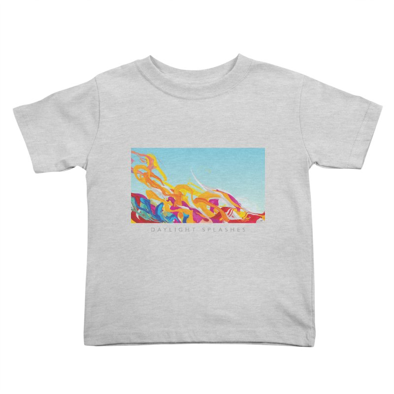 DAYLIGHT SPLASHES Kids Toddler T-Shirt by mu's Artist Shop