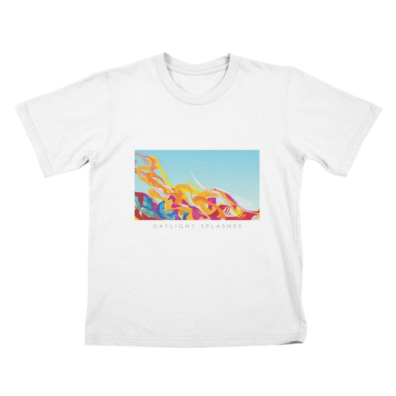 DAYLIGHT SPLASHES Kids T-Shirt by mu's Artist Shop