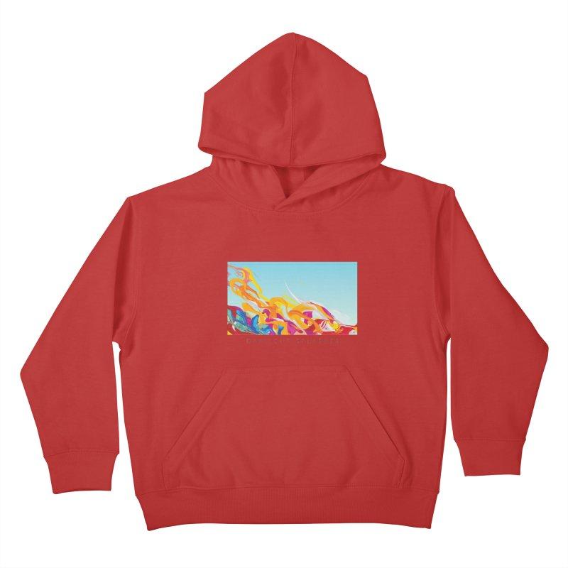 DAYLIGHT SPLASHES Kids Pullover Hoody by mu's Artist Shop