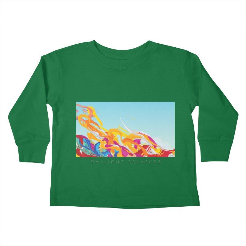 DAYLIGHT SPLASHES Kids Toddler Longsleeve T-Shirt by mu's Artist Shop