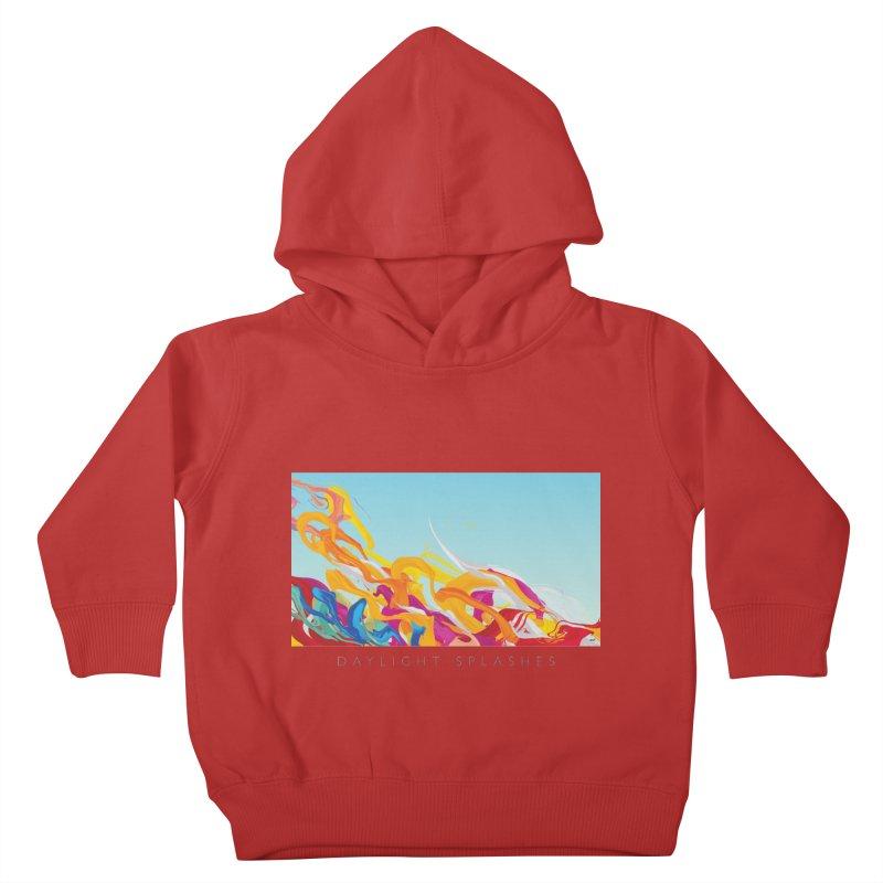 DAYLIGHT SPLASHES Kids Toddler Pullover Hoody by mu's Artist Shop
