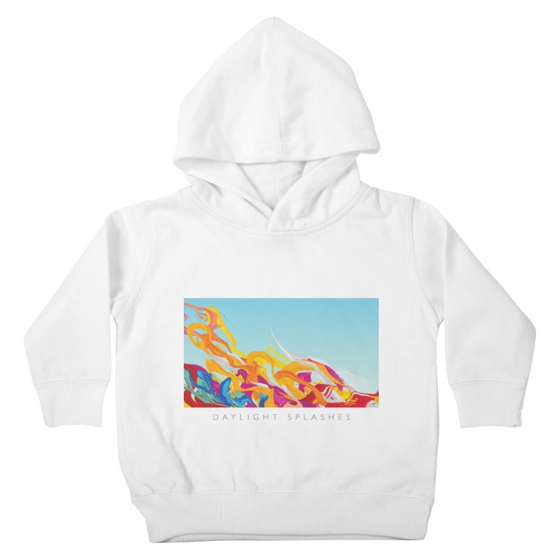 DAYLIGHT SPLASHES Kids Toddler Pullover Hoody by mu's Artist Shop