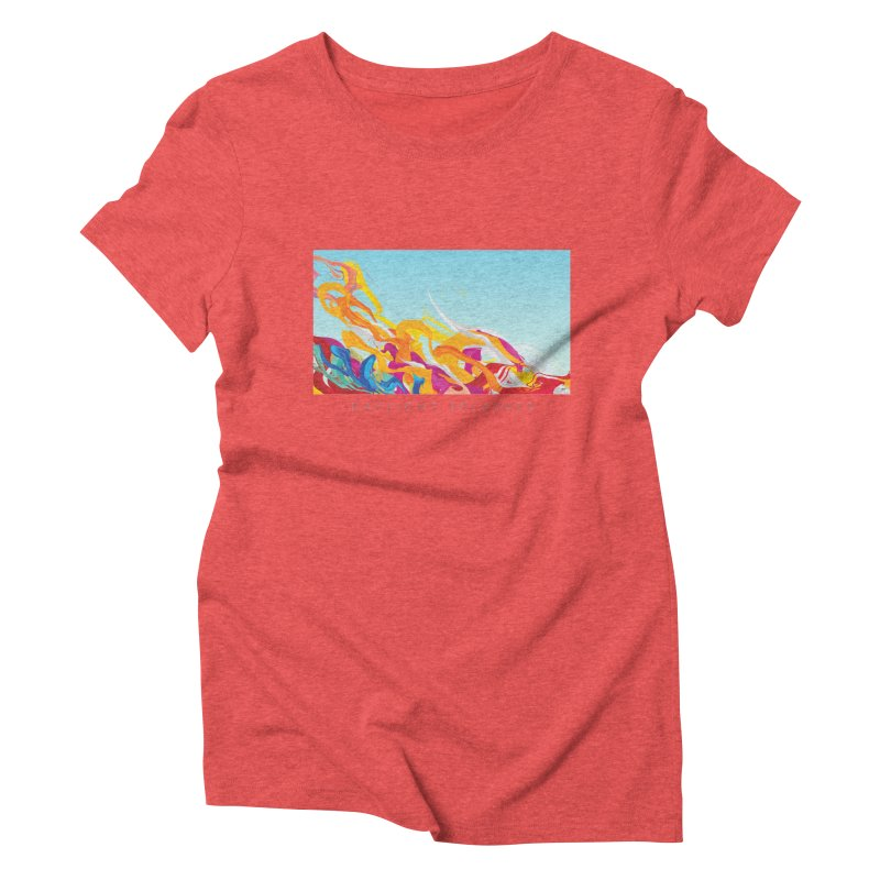 DAYLIGHT SPLASHES Women's Triblend T-Shirt by mu's Artist Shop