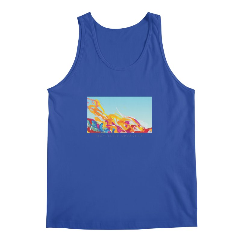 DAYLIGHT SPLASHES Men's Regular Tank by mu's Artist Shop
