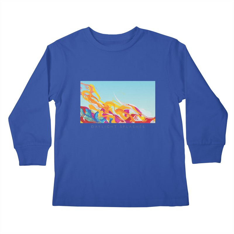 DAYLIGHT SPLASHES Kids Longsleeve T-Shirt by mu's Artist Shop