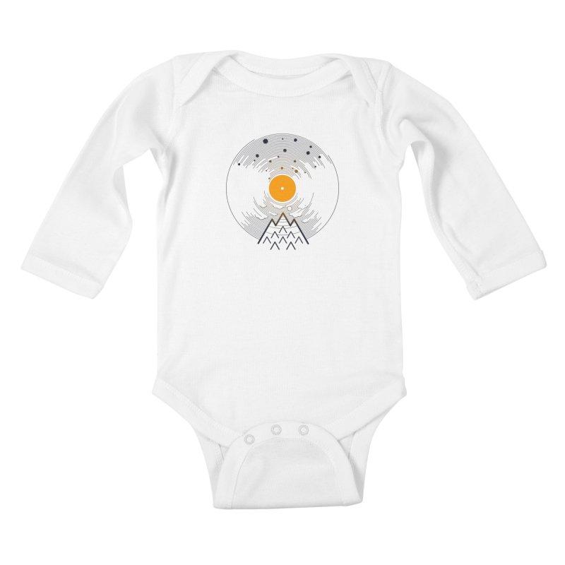 solarec Kids Baby Longsleeve Bodysuit by muag's Artist Shop