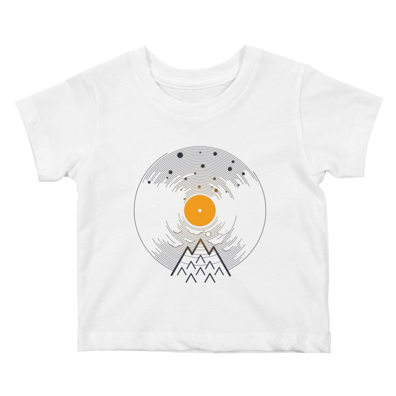 solarec Kids Baby T-Shirt by muag's Artist Shop