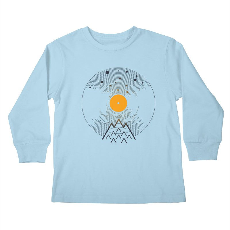 solarec Kids Longsleeve T-Shirt by muag's Artist Shop