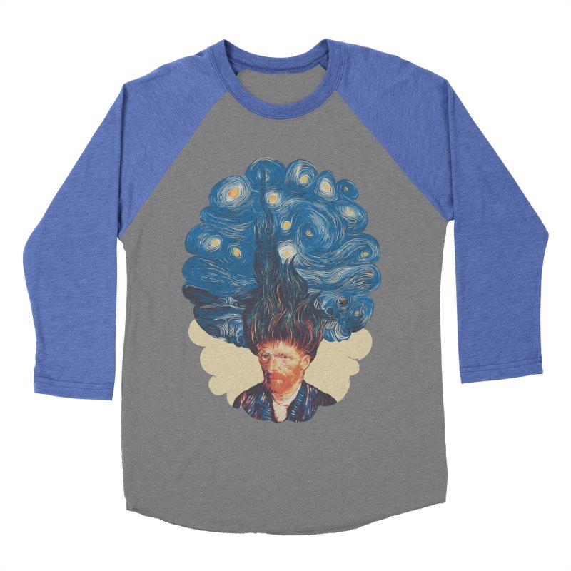 de hairednacht Women's Baseball Triblend Longsleeve T-Shirt by muag's Artist Shop