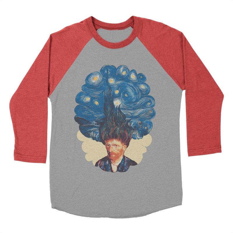 de hairednacht Men's Baseball Triblend T-Shirt by muag's Artist Shop