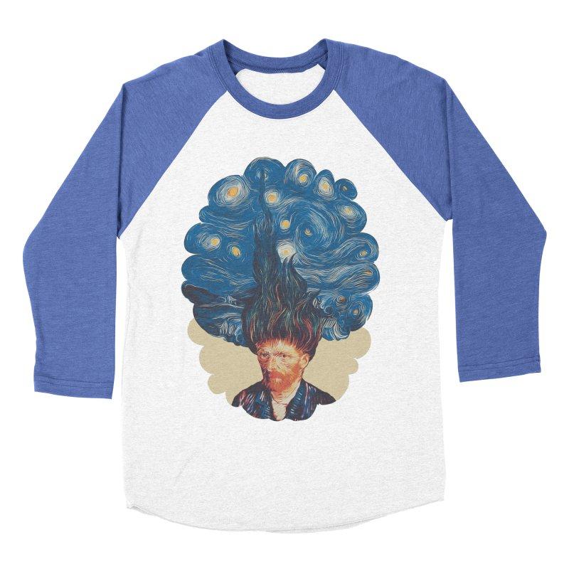 de hairednacht Men's Baseball Triblend Longsleeve T-Shirt by muag's Artist Shop