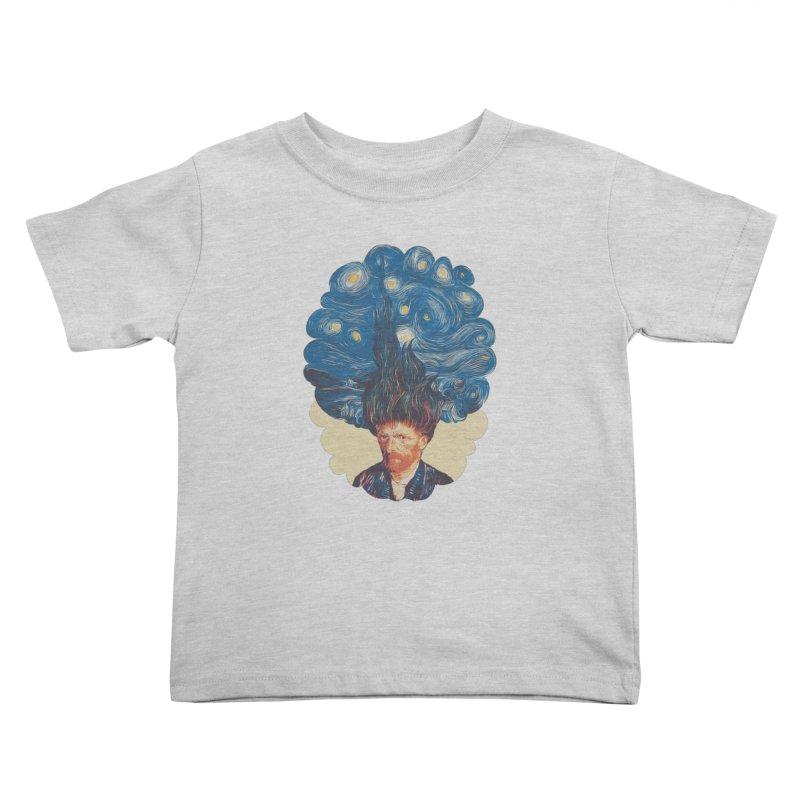 de hairednacht Kids Toddler T-Shirt by muag's Artist Shop