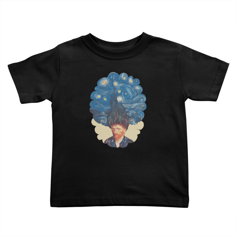 de hairednacht Kids Toddler T-Shirt by muag's Artist Shop
