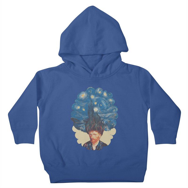 de hairednacht Kids Toddler Pullover Hoody by muag's Artist Shop