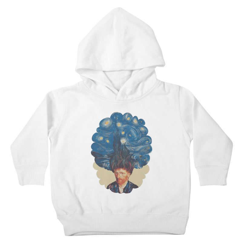 de hairednacht Kids Toddler Pullover Hoody by muag's Artist Shop
