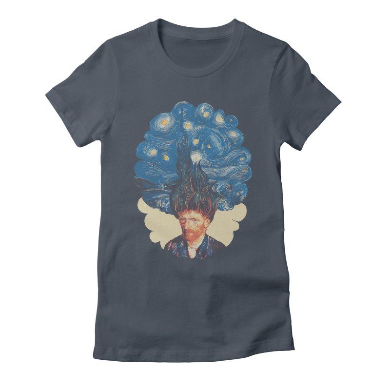 de hairednacht Women's T-Shirt by muag's Artist Shop
