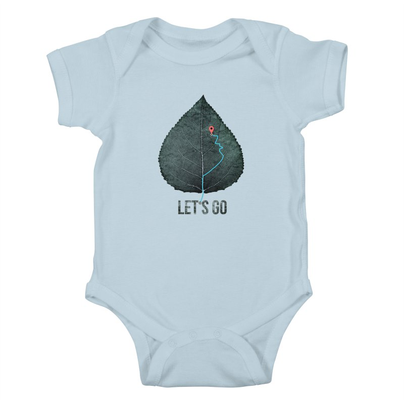 wildcity Kids Baby Bodysuit by muag's Artist Shop