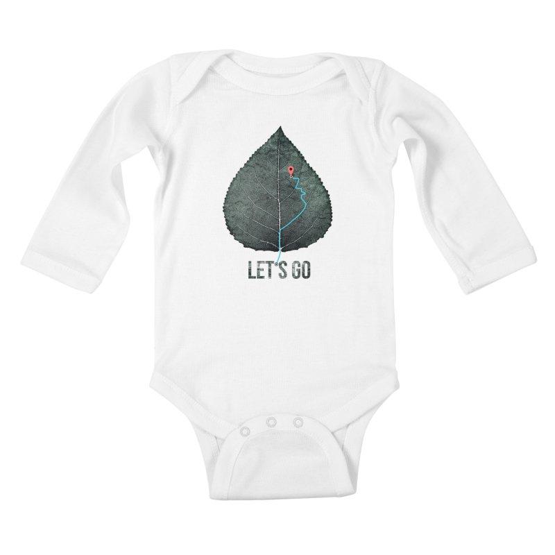 wildcity Kids Baby Longsleeve Bodysuit by muag's Artist Shop