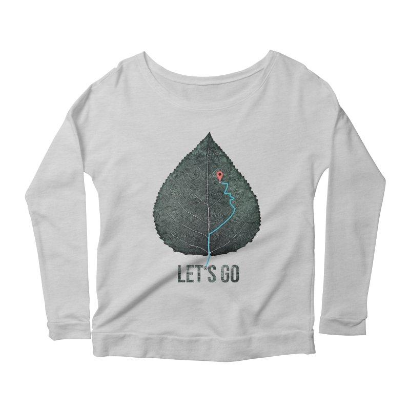 wildcity Women's Scoop Neck Longsleeve T-Shirt by muag's Artist Shop