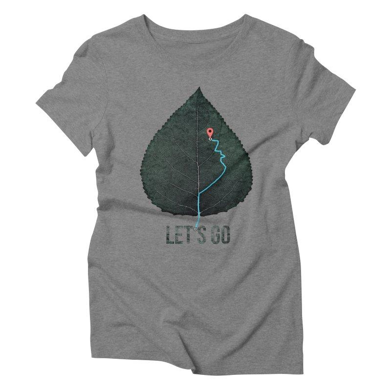 wildcity Women's Triblend T-Shirt by muag's Artist Shop