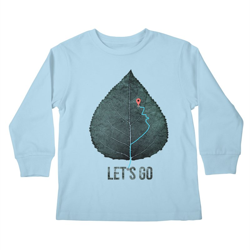 wildcity Kids Longsleeve T-Shirt by muag's Artist Shop