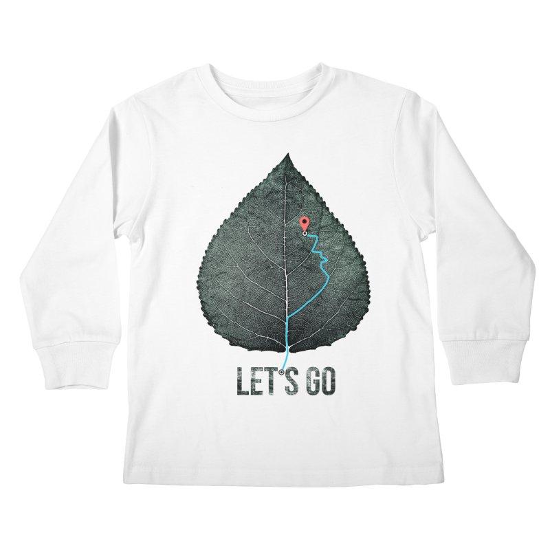 wildcity Kids Longsleeve T-Shirt by muag's Artist Shop