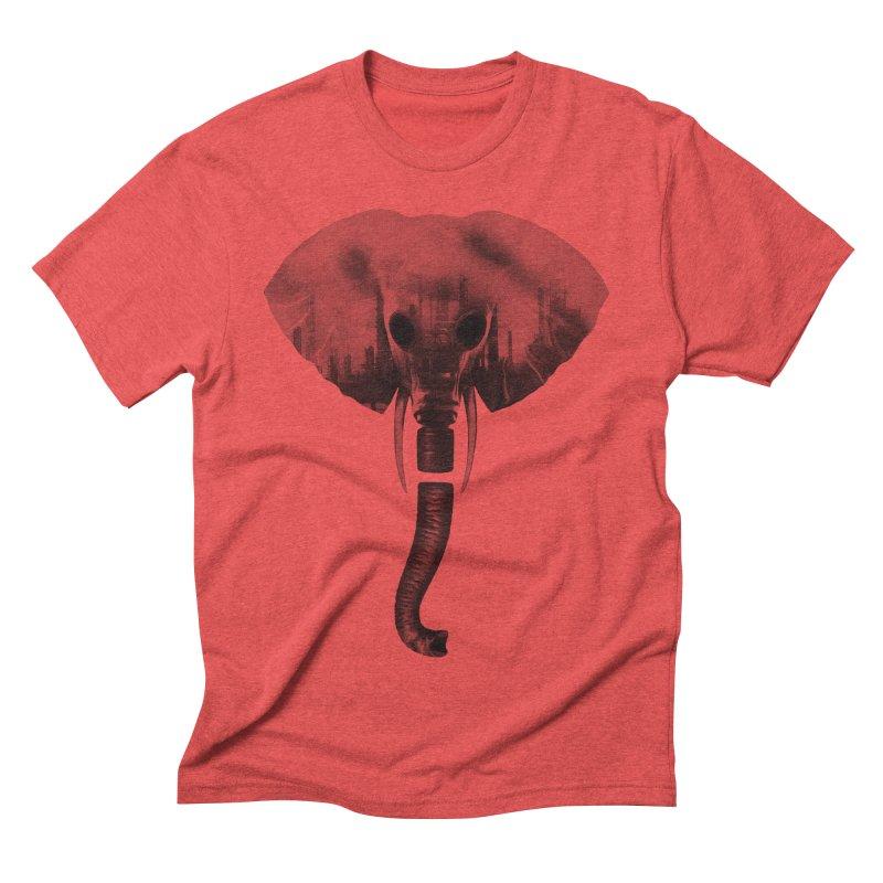 self-alienation Men's Triblend T-shirt by muag's Artist Shop