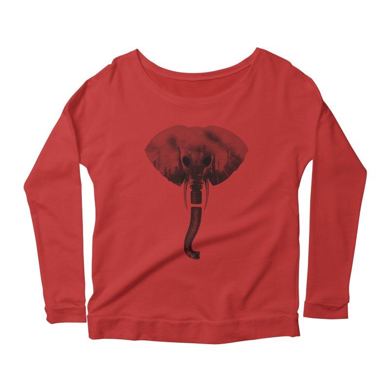 self-alienation Women's Scoop Neck Longsleeve T-Shirt by muag's Artist Shop