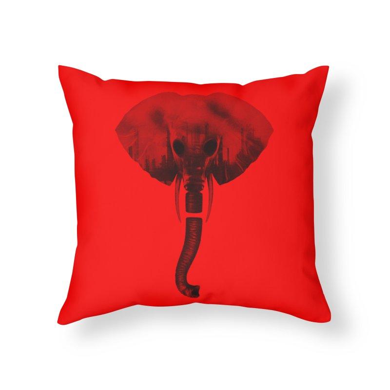 self-alienation Home Throw Pillow by muag's Artist Shop