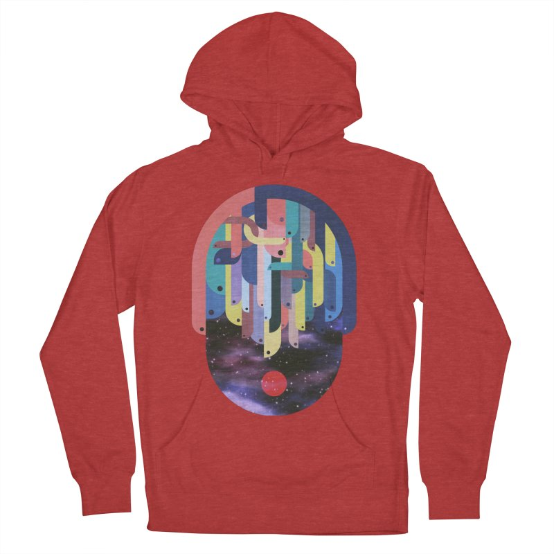 medusa Women's French Terry Pullover Hoody by muag's Artist Shop