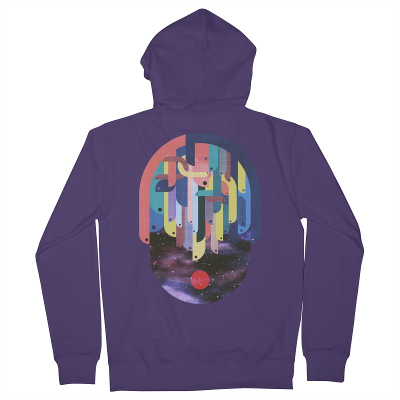 medusa Women's French Terry Zip-Up Hoody by muag's Artist Shop