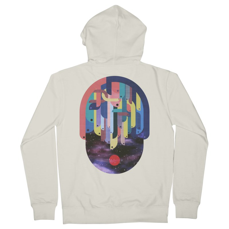 medusa Women's Zip-Up Hoody by muag's Artist Shop