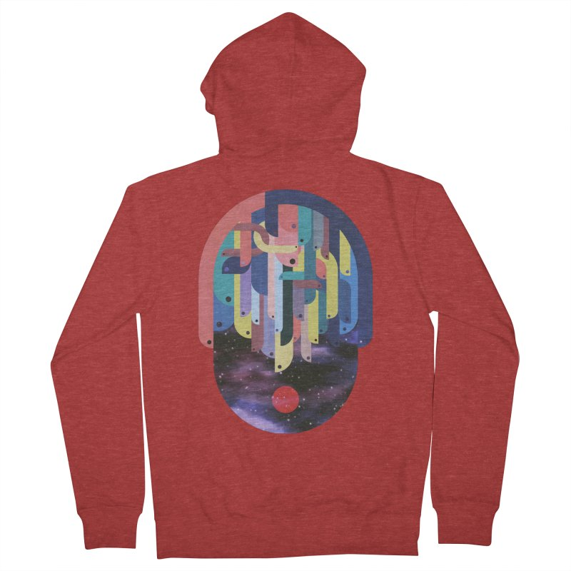 medusa Men's Zip-Up Hoody by muag's Artist Shop