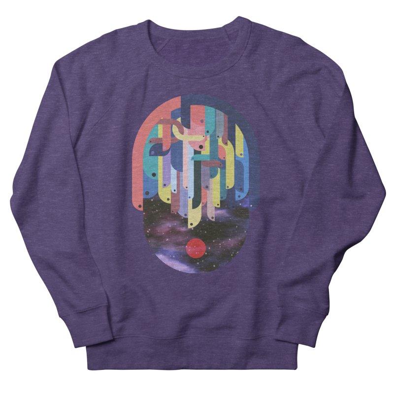 medusa Men's French Terry Sweatshirt by muag's Artist Shop