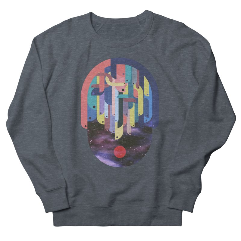 medusa Men's French Terry Sweatshirt by muag's Artist Shop