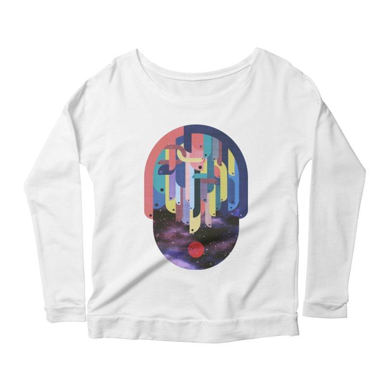 medusa Women's Scoop Neck Longsleeve T-Shirt by muag's Artist Shop