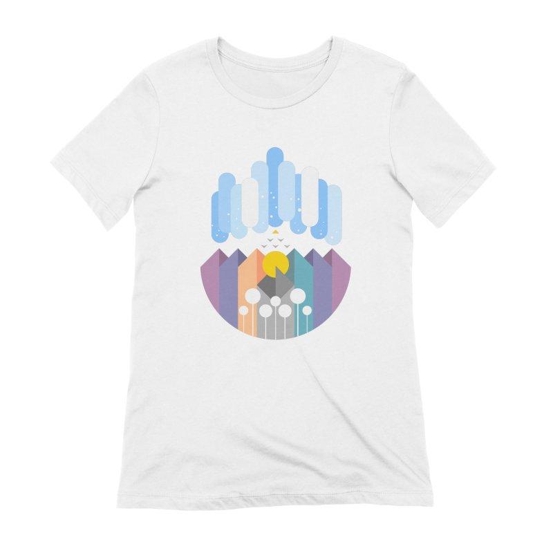 geomy Women's T-Shirt by muag's Artist Shop